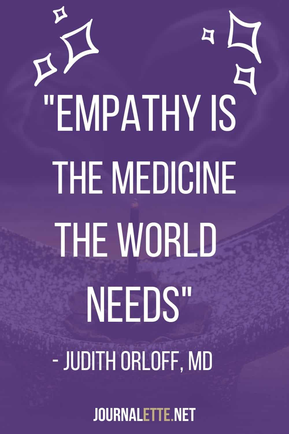 quote about empathy by dr judith orloff