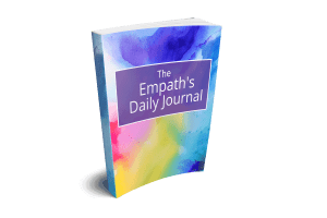 image of book empath daily journal